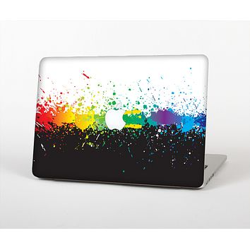 The Rainbow Paint Spatter Skin for the Apple MacBook Pro 15""