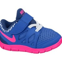 Nike Free 5.0 2c-10c Toddler Girls' Shoes - Hyper Cobalt