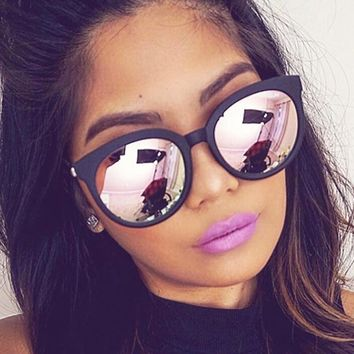 Top Quality Square Sunglasses Women Brand Design Coating Mirror Lady Sunglass Female Sun Glasses For Women Eyewear oculos de sol