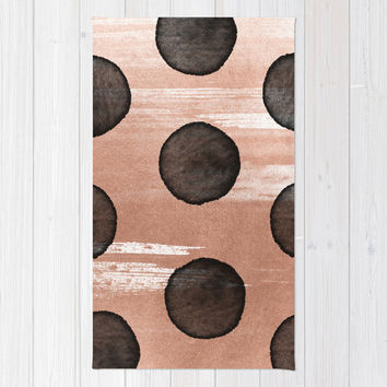 rose gold #2 Rug by LEEMO
