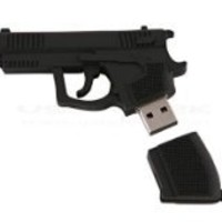 BNM Corporation - High Quality 8 GB Gun Shape USB Flash Drive