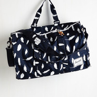 Boho Student of Life Weekend Bag by Herschel Supply Co. from ModCloth