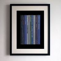 The Cure 'The Head on the Door' Poster Print Album As Books Robert Smith Book Print