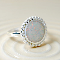 Statement ring,Opal Ring,Geode ring,October Birthstone,Birthstone Ring,gemstone ring,Agate ring,Mother Ring
