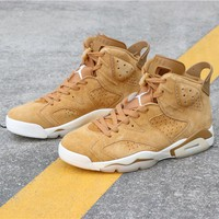 "Air Jordan 6 ""Wheat"" 384664-705"