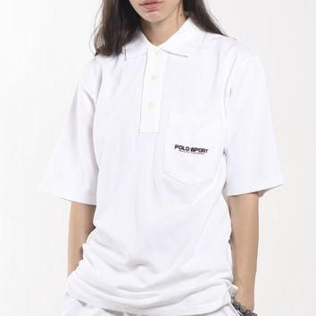 Vintage Deadstock Polo Sport Collared Shirt
