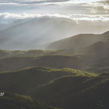 Sunrise In North Georgia Mountains 6 by Andrea Anderegg Photography