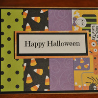 Cute Homemade Happy Halloween card