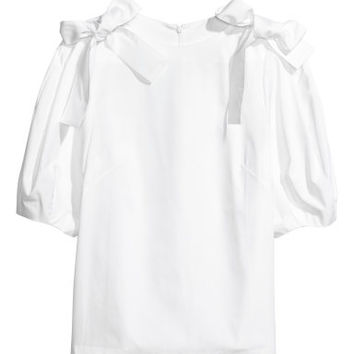 H&M Cotton Blouse $39.99