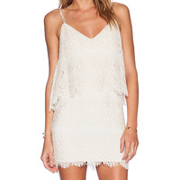 SAYLOR Randy Dress in Ivory