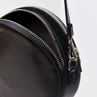 Double Zip Circle Crossbody Bag | Urban Outfitters