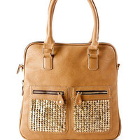 BROOKLYN STUD EXPANDABLE TOTE