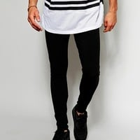 ASOS Meggings In Black