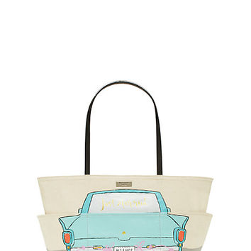 Kate Spade Wedding Belles Happily Ever After Francis Just Married ONE