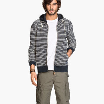H&M Striped Hooded Jacket $19.99