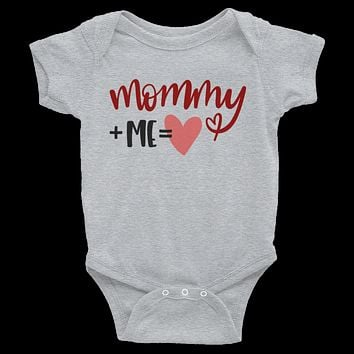 Mommy + Me= Love Onesuit