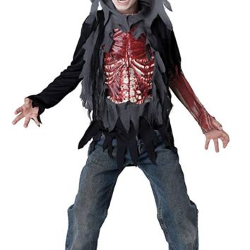 NEW! InCharacter Costumes Skinned Alive Horror Costume Size:10