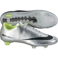 Nike Men's Mercurial Veloce FG Soccer Cleat - Silver/Black | DICK'S Sporting Goods