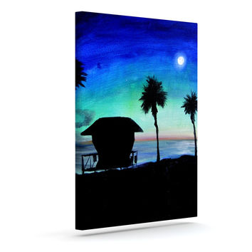"Theresa Giolzetti ""Carlsbad State Beach"" Outdoor Canvas Wall Art"