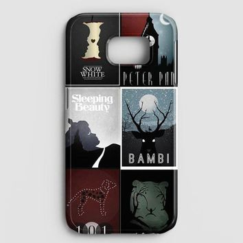 Minimalist Disney Film Posters Samsung Galaxy Note 8 Case