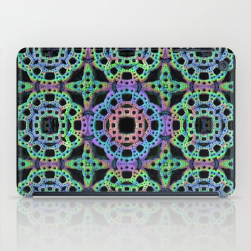 Crochet Pattern iPad Case by Lyle Hatch
