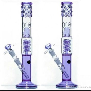 Purple Oil Rig Water Bong