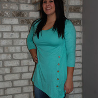 Be Sassy Button Tunic
