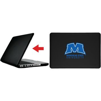 """Morehead State Primary Mark in Blue design on MacBook Pro 13"""" with Retina Display Customizable Personalized Case by iPearl"""