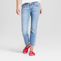 Women's Reworked Flare Crop Jeans - Crafted by Lee Light Wash