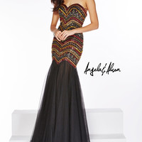 Angela & Alison 51006 Beaded Mermaid Prom Dress Evening Gown SALE