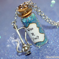 Alice in Wonderland, The Caterpillar, Who R You, Who Are You?