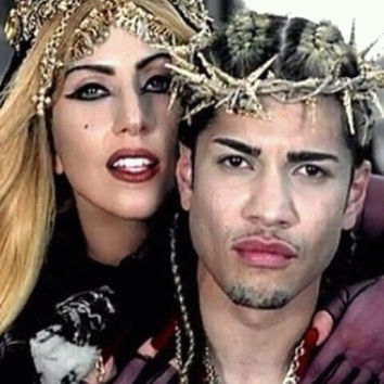 Jesus Thorn Crown (replica) as seen in Lady Gaga's Judas video and Vogue Hommes Japan F 2011