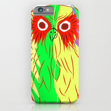 Owl iPhone & iPod Case by mrnobody
