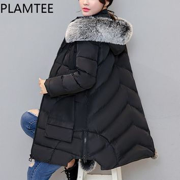 Maternity Coat Thick Removable Detachable Hoodies Down Jacket For Pregnant  Women