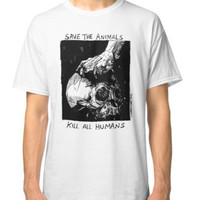 'Save the animals' Classic T-Shirt by WOLFSKULLJACK