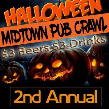 October 28th Midtown Halloween Pub Crawl (2nd Annual)