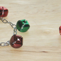 2 Piece Jewelry Set in Red and Green