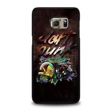 daft punk samsung galaxy s6 edge plus case cover  number 1
