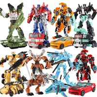 Transformation Deformation Action Figures Toys