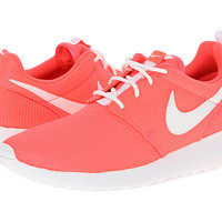 Nike Kids Roshe Run Glow (Little Kid/Big Kid) Hyper Punch/White - Zappos.com Free Shipping BOTH Ways