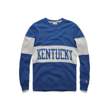 Kentucky Stripe Crewneck