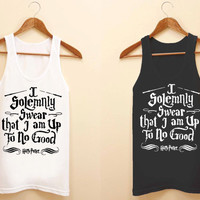 i solemnly swear harry potter unisex tank top for size S-3XL, color available black and white