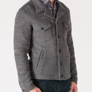 Berger Shirt Jacket - Grey