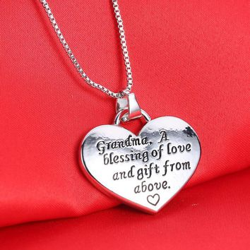 New Arrival Shiny Stylish Gift Jewelry Simple Design Necklace [302110343209]