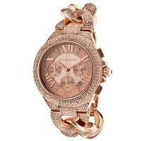 Michael Kors Camille Rose Gold Watch MK3196