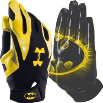 Under Armour Youth Batman Alter Ego F4 Receiver Gloves