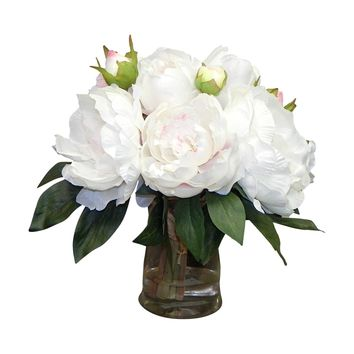 Garden peony Centerpiece | Overstock.com Shopping - The Best Deals on Silk Plants