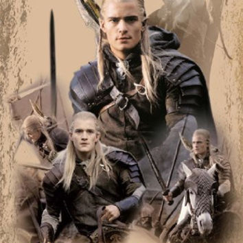 THE LORD OF THE RINGS POSTER Legolas RARE NEW 24X36 - 2