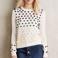 Moth Candy Dot Pullover in Neutral Size: