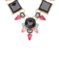 With Love From CA Multi Stone Statement Necklace at PacSun.com
